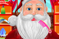Santas Christmas Grooming