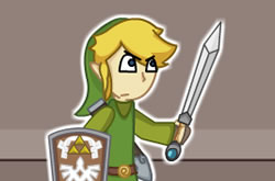 The Legend of Zelda 2D
