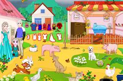 Elsa Family In Farm House