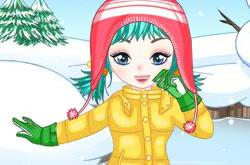 Snowboarder Girl Dressup