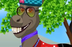 Cute Donkey Dressup