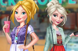 Barbie and Elsa BFFs