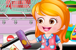 Baby Hazel As Cashier