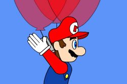 Super Mario Bros Balloon Trip