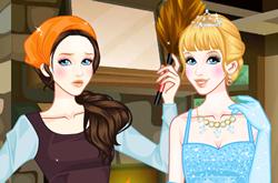 Cinderella Poor Vs Princess