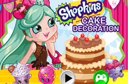 Shopkins Cake Decoration