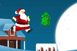 Santa Claus Jumping