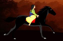 Mulan Horse Ride