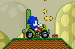 Sonic Atv in Mario Land