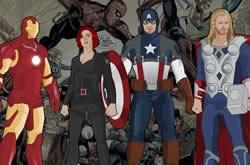Avengers dressup