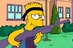 Simpsons Bart Rulez
