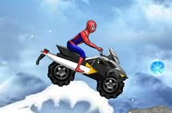 Spider Man Snow