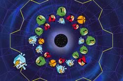 Angry Birds Space Wormhole