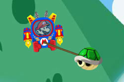 Mario Robot Battle