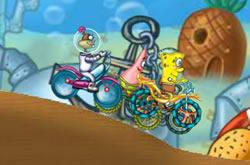 Bobesponja Bicicleta