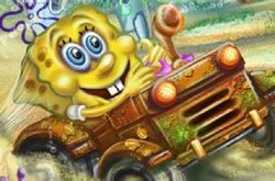 Sponge Bob Tractor 2