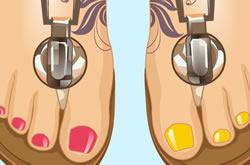Toes Nails Design