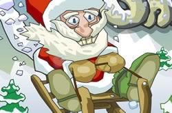 Papai Noel E Os Presentes