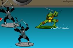 Tartarugas Ninjas Surf