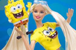 Bob Esponja E Barbie