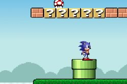Sonic Mundo Mario