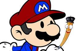 Colorindo o Mario