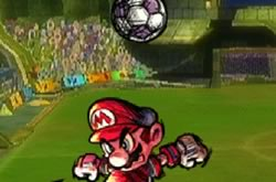 Jogo Mario Strikers