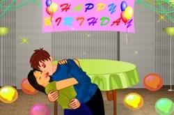 Beijo no Aniversário