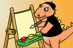 Colorir os Dinossauros