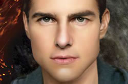 Tom Cruise Make Up