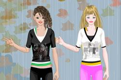 Vista Duas Garotas